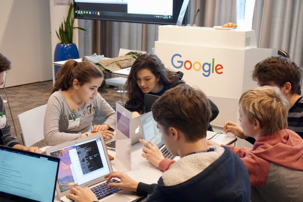'Girls! Tech industry needs you…'
